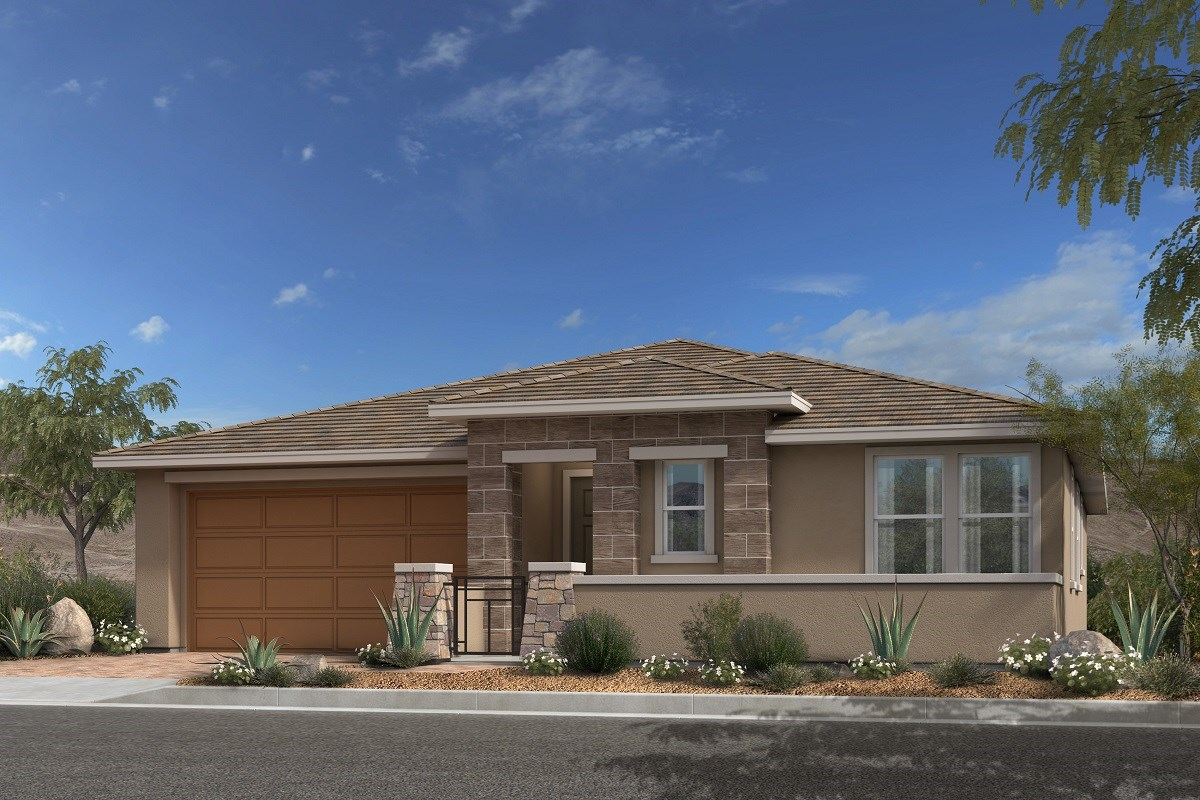 New Homes in Las Vegas, NV - Caledonia at Summerlin - Collection II Plan 1965