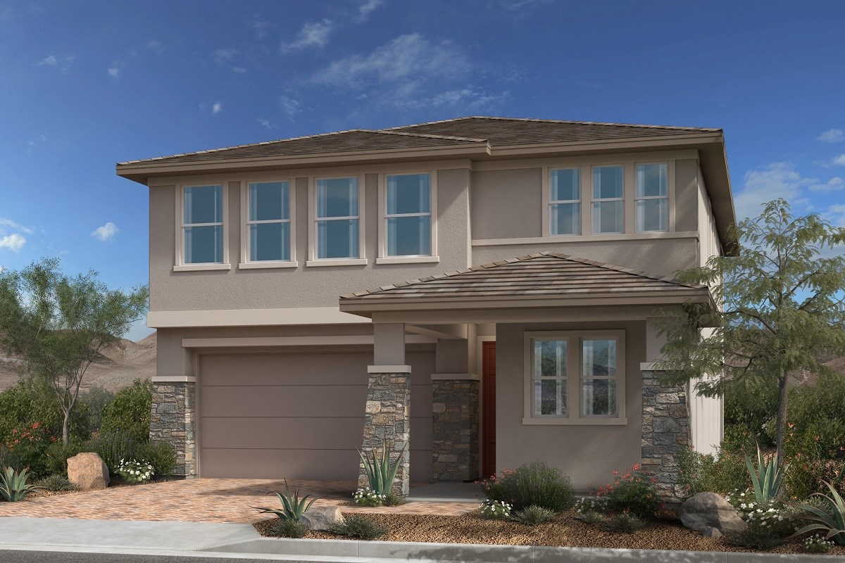 New Homes in Las Vegas, NV - Caledonia at Summerlin - Collection I Plan 2373