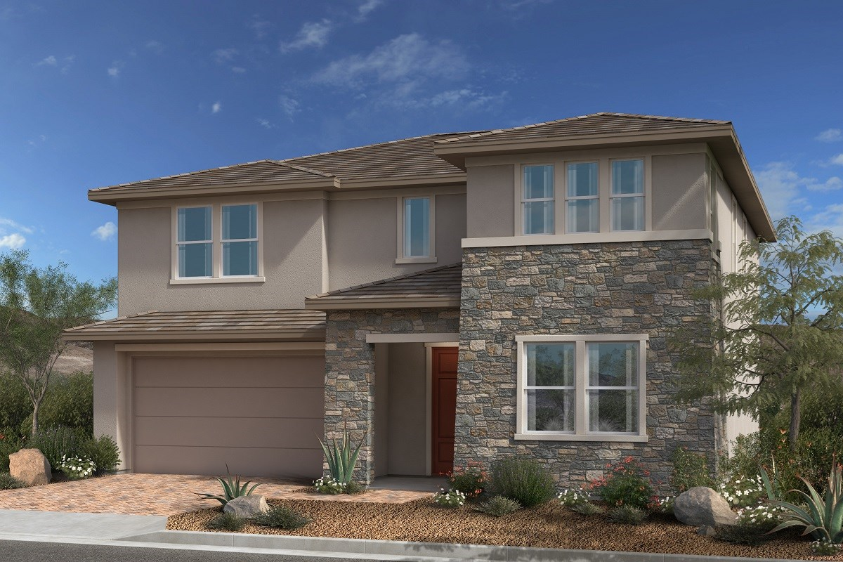 New Homes in Las Vegas, NV - Caledonia at Summerlin - Collection II Plan 2768