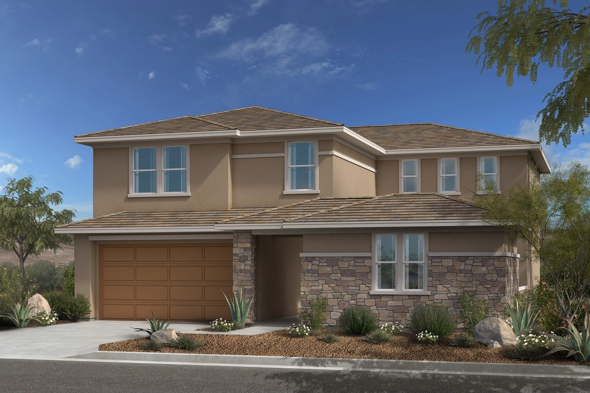 New Homes in Las Vegas, NV - Caledonia at Summerlin Plan 3095