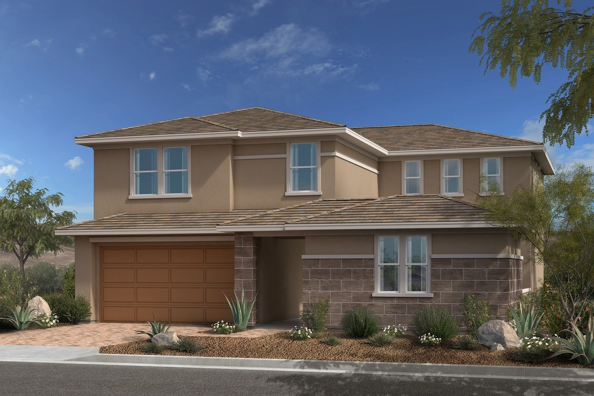 New Homes in Las Vegas, NV - Caledonia at Summerlin - Collection II Plan 3095