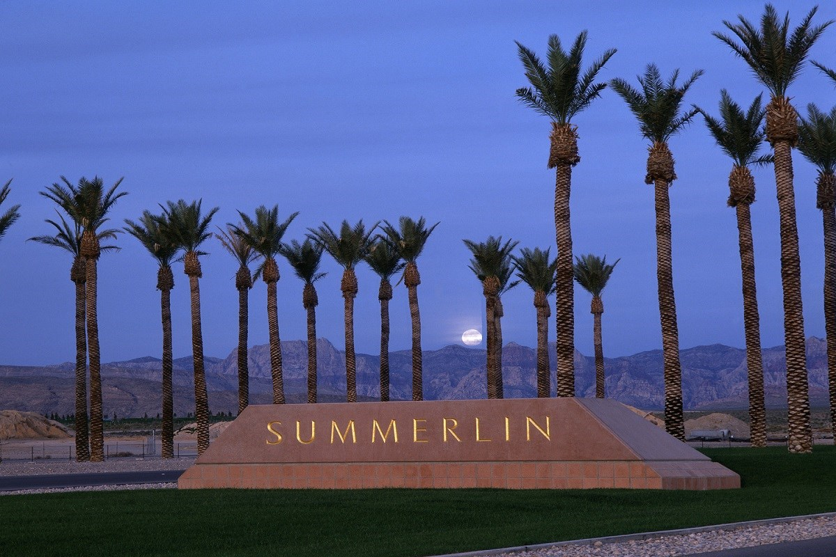 New Homes in Las Vegas, NV - Caledonia at Summerlin - Collection I Summerlin Monument