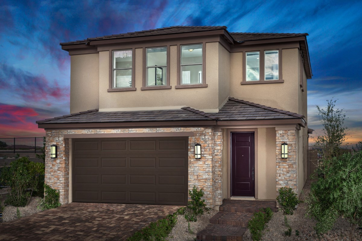 New Homes in Las Vegas, NV - Caledonia at Summerlin - Collection I Plan 1896 Modeled
