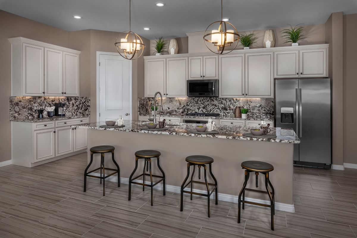 New Homes in Las Vegas, NV - Caledonia at Summerlin – Collection II Plan 1965 Kitchen