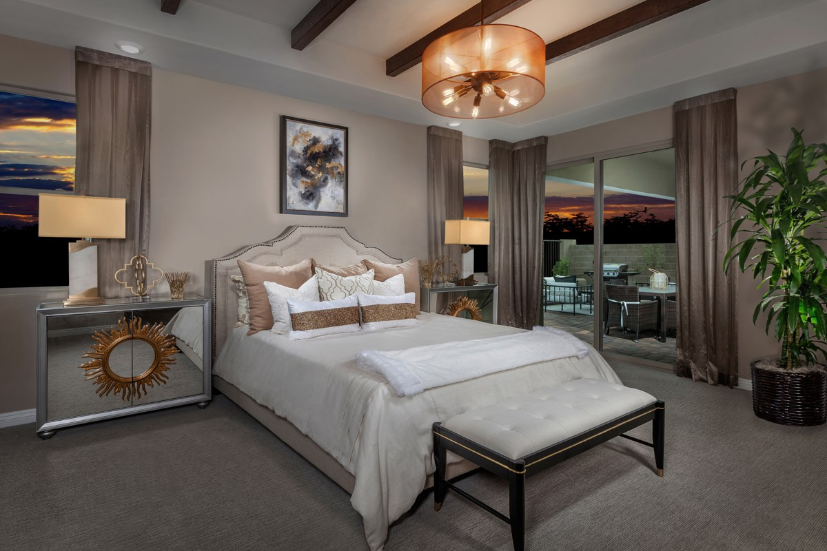 New Homes in Las Vegas, NV - Caledonia at Summerlin – Collection II Plan 1965 Master Bedroom