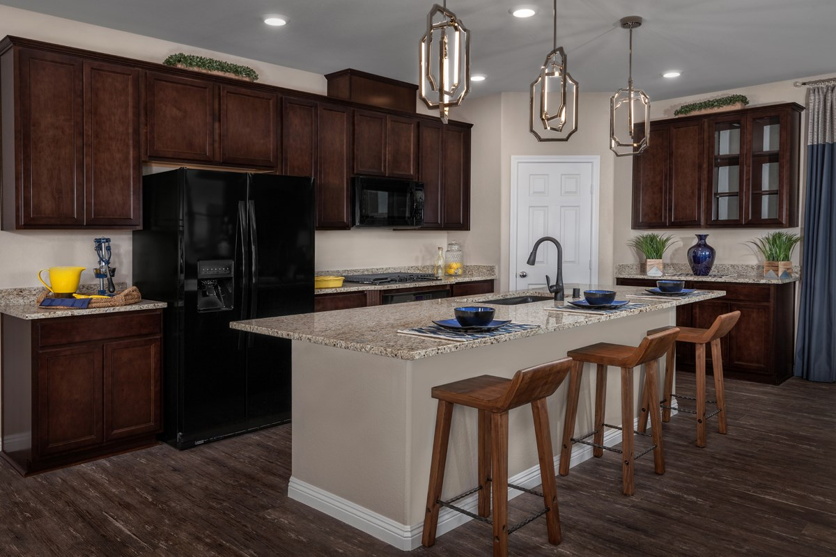 New Homes in Las Vegas, NV - Caledonia at Summerlin - Collection I Plan 2373 Kitchen