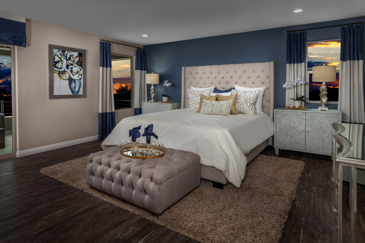 New Homes in Las Vegas, NV - Caledonia at Summerlin - Collection I Plan 2373 Master Bedroom