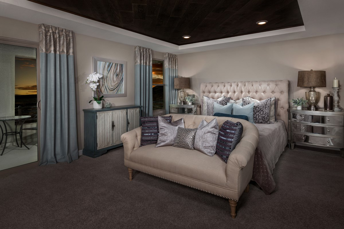 New Homes in Las Vegas, NV - Caledonia at Summerlin - Collection I Plan 2620 Master Bedroom