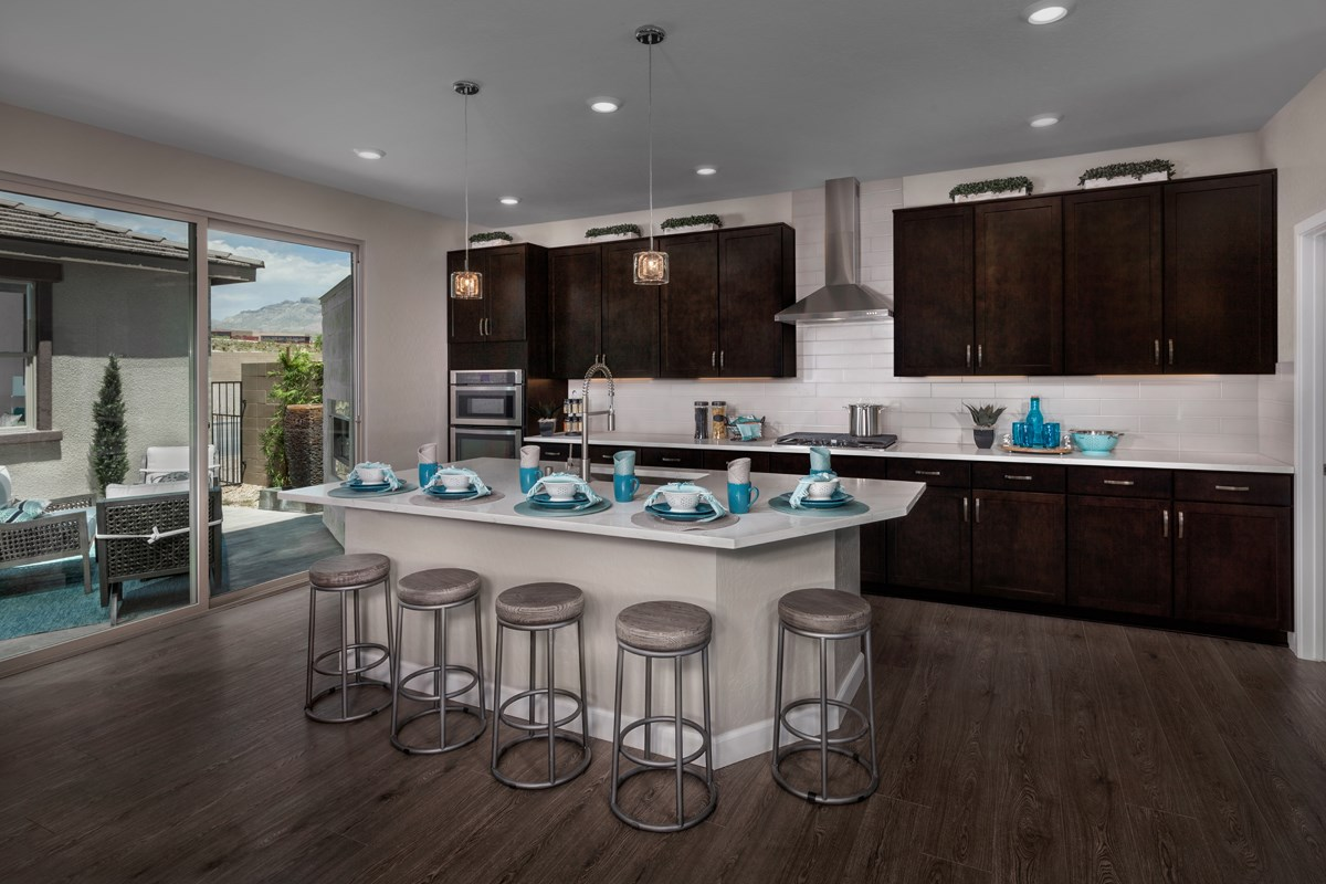New Homes in Las Vegas, NV - Caledonia at Summerlin – Collection II Plan 3095 Kitchen