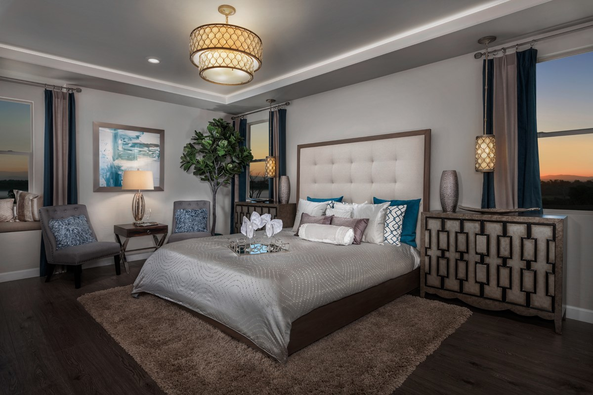New Homes in Las Vegas, NV - Caledonia at Summerlin – Collection II Plan 3095 Master Bedroom