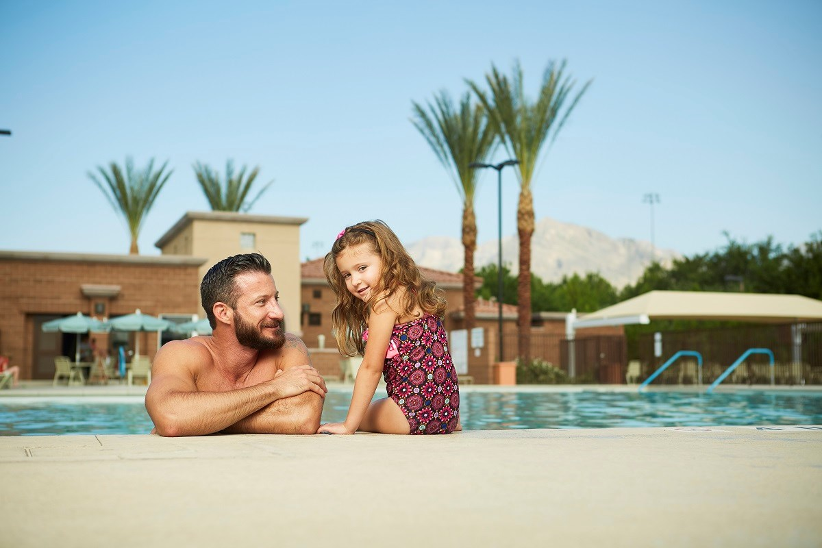 New Homes in Las Vegas, NV - Caledonia at Summerlin Summerlin Pool