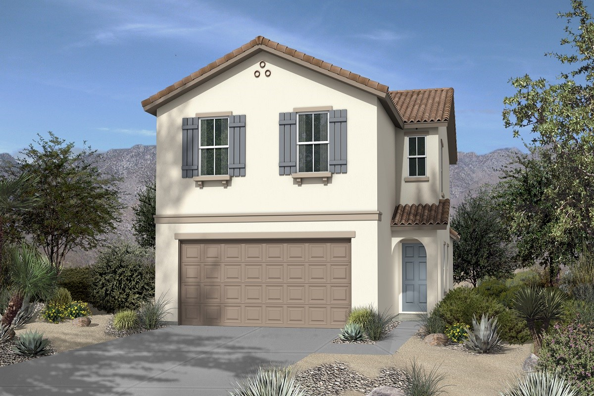 New Homes in Las Vegas, NV - Chandler Park Plan 1644