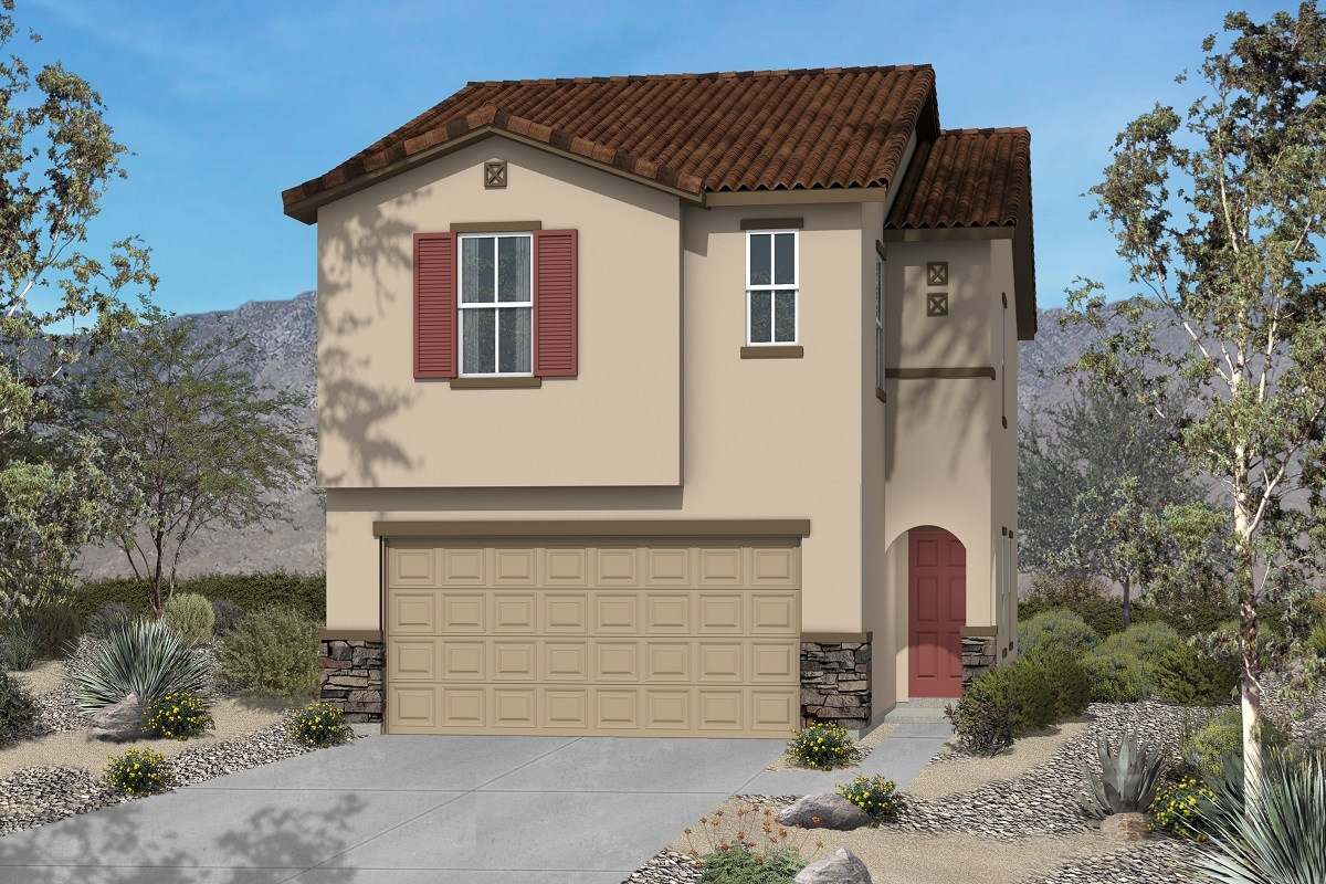 New Homes in Las Vegas, NV - Chandler Park Plan 1855