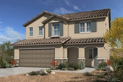 New Homes in Las Vegas, NV - Elevation B