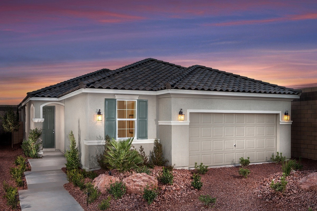 New Homes in Las Vegas, NV - Chandler Park Plan 1700 Modeled
