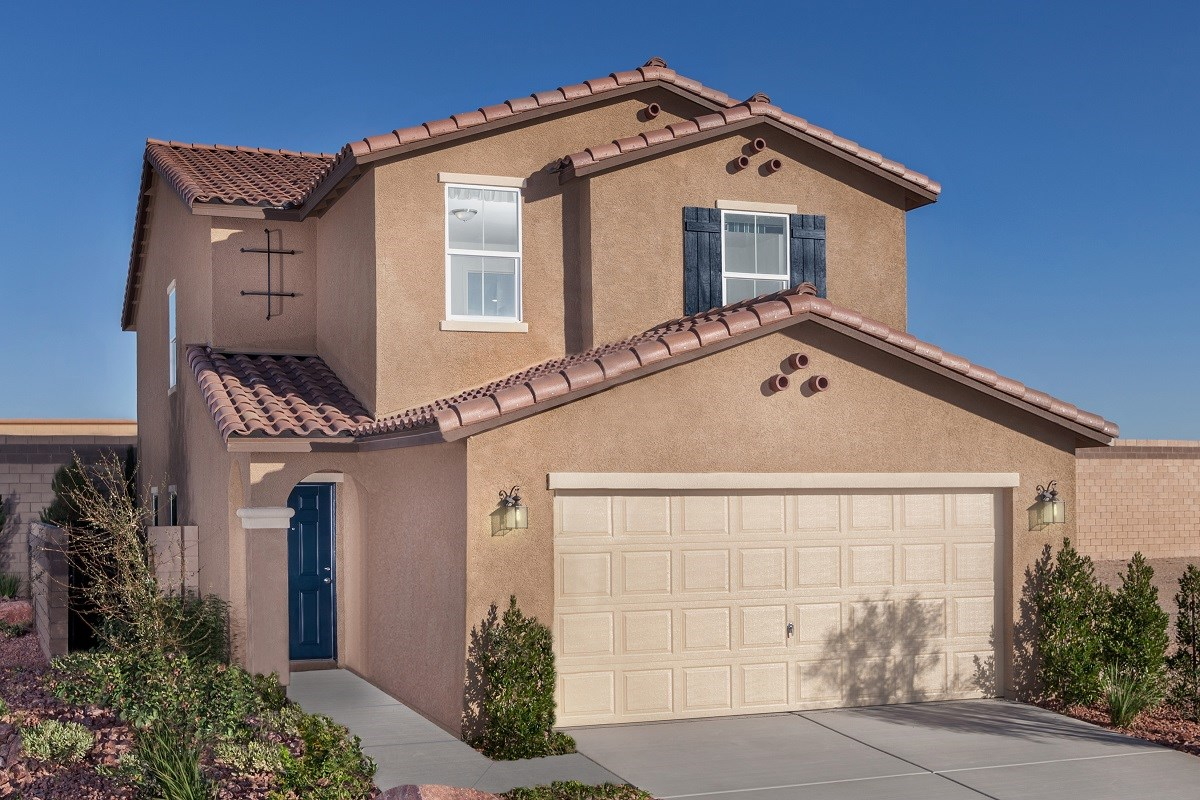 New Homes in Las Vegas, NV - Chandler Park Plan 2115 Modeled