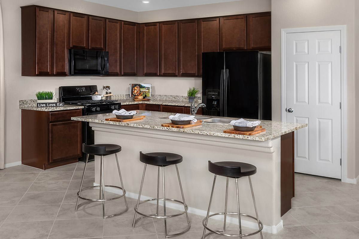 New Homes in Las Vegas, NV - Cumberland Ranch Plan 2115 Kitchen