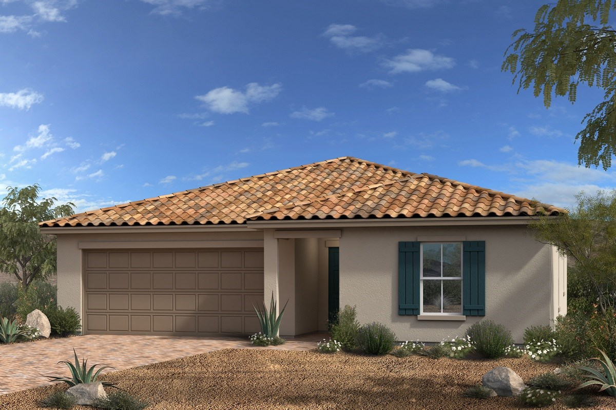 New Homes in North Las Vegas, NV - Desert Mesa Plan 1615