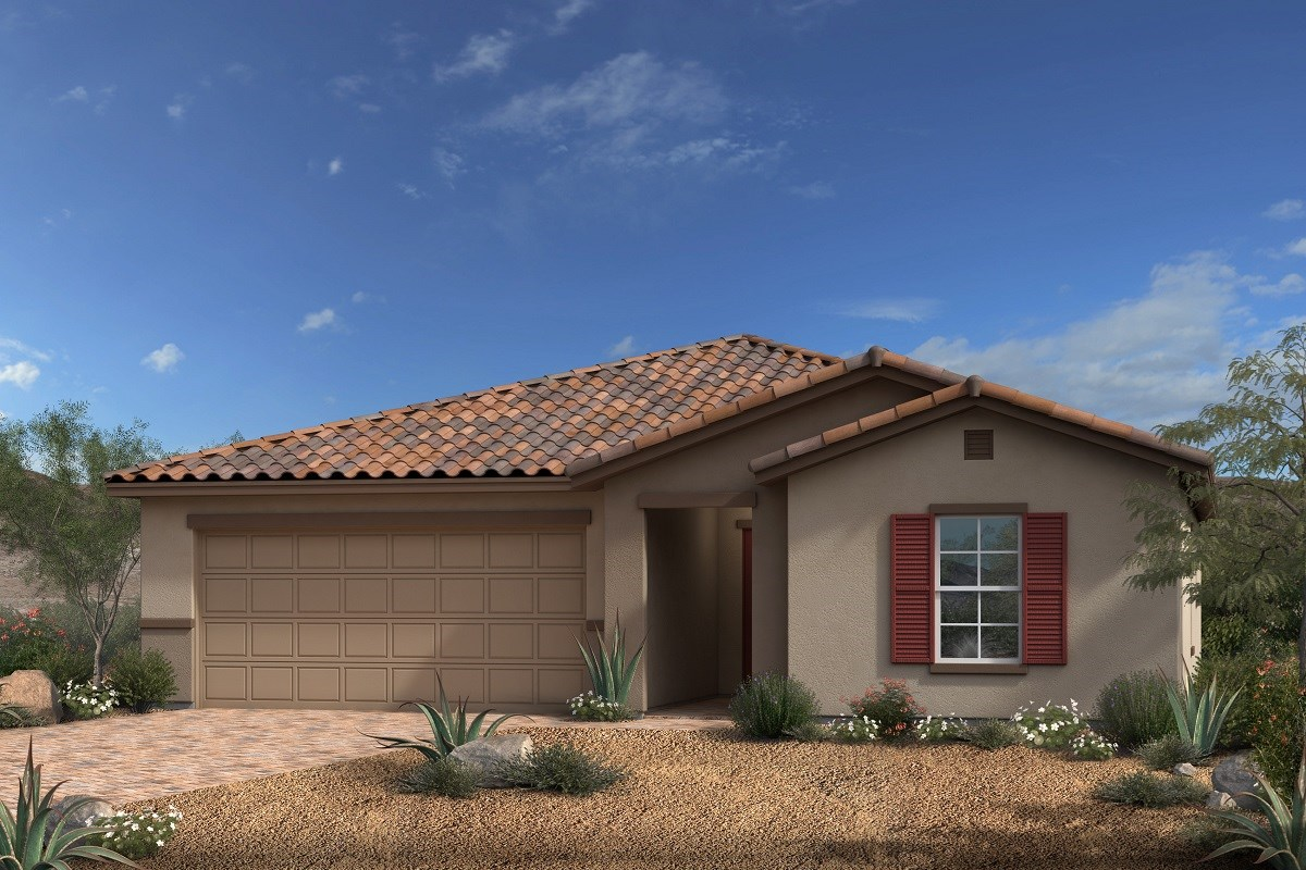 New Homes in North Las Vegas, NV - Desert Mesa Plan 1775