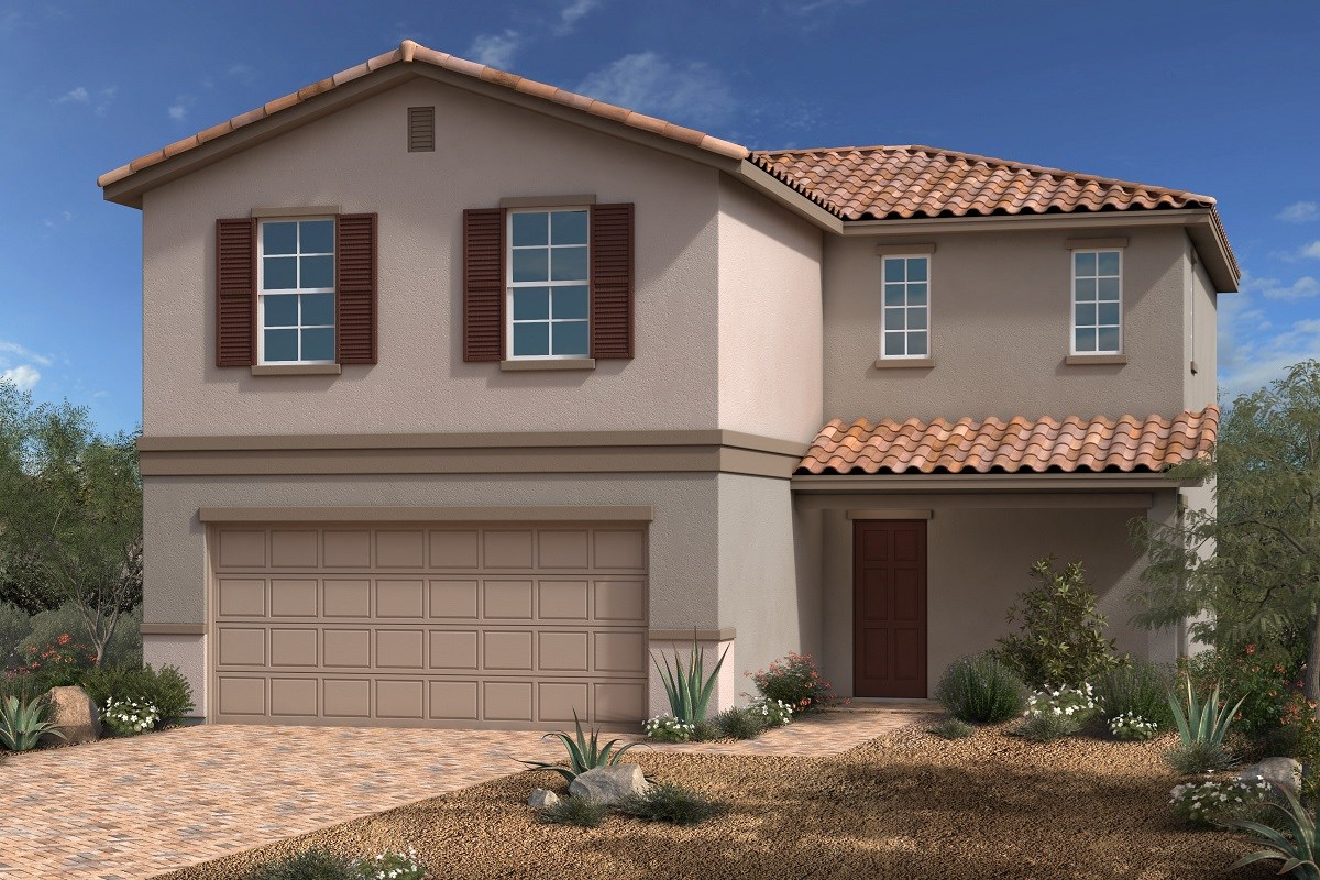 New Homes in North Las Vegas, NV - Desert Mesa Plan 1939