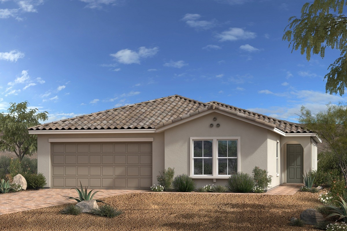 New Homes in North Las Vegas, NV - Desert Mesa Plan 2020