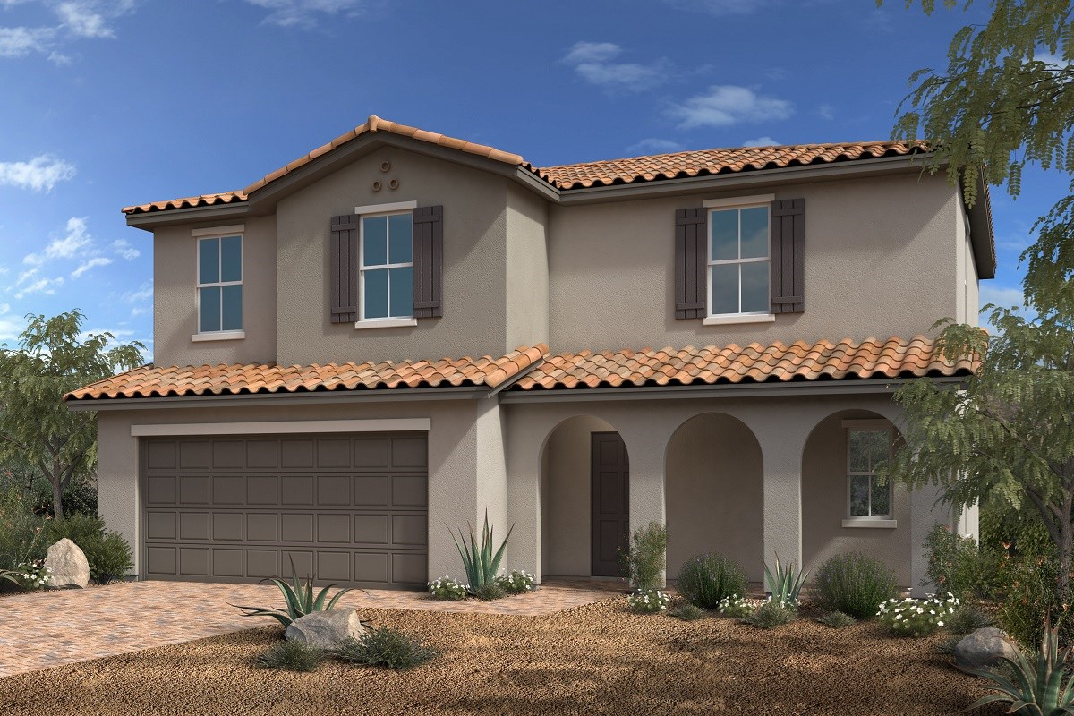 New Homes in North Las Vegas, NV - Desert Mesa Plan 2094