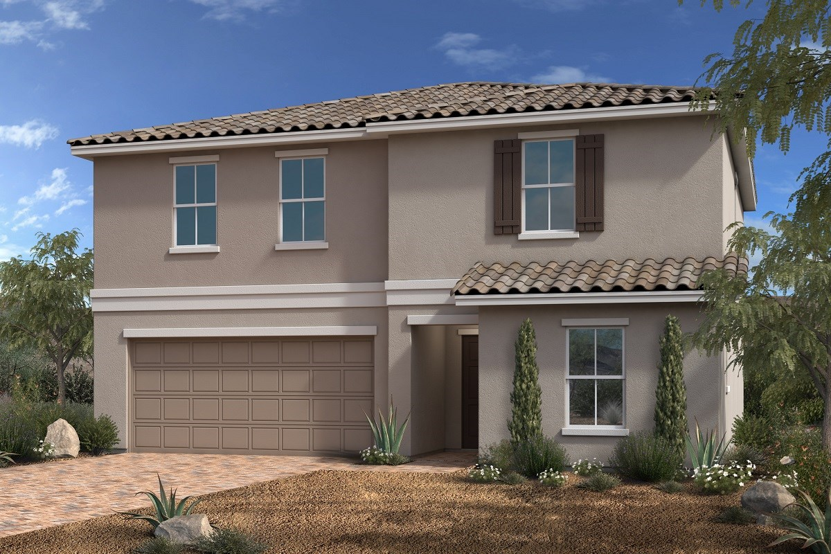 New Homes in North Las Vegas, NV - Desert Mesa Plan 2339
