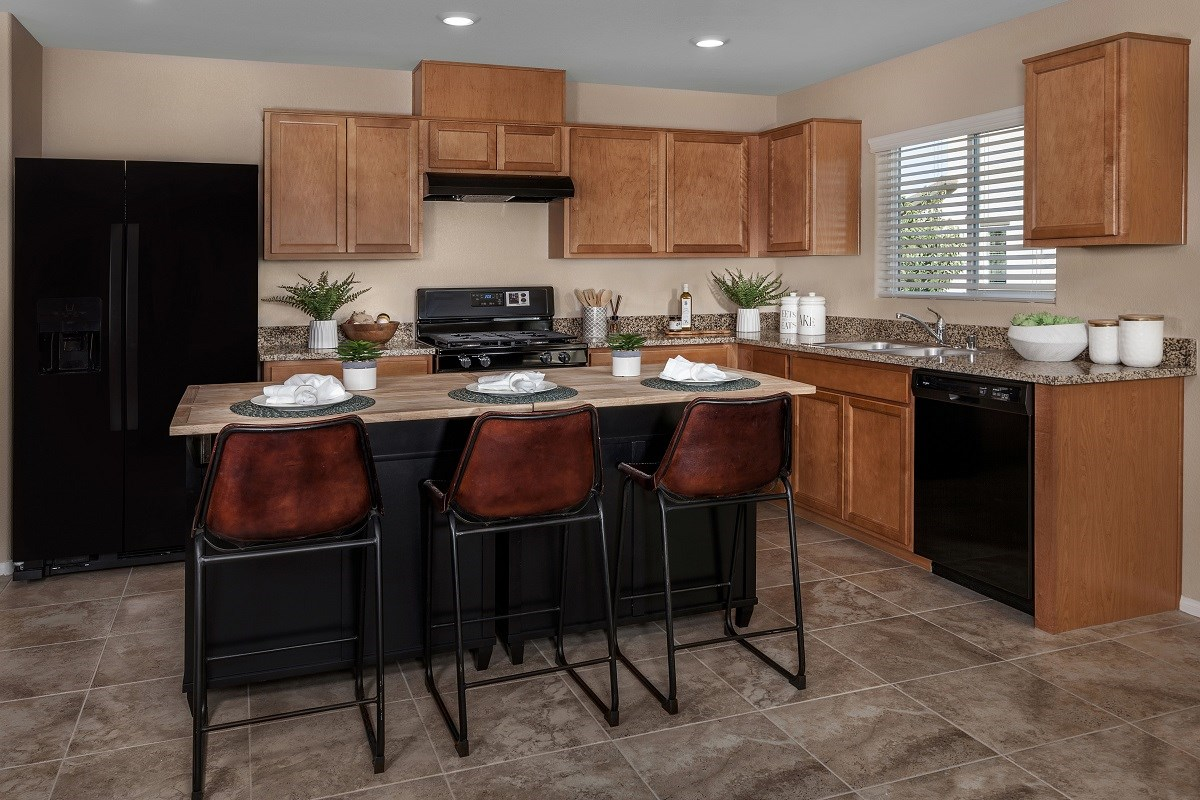 New Homes in North Las Vegas, NV - Desert Mesa Plan 1775 Kitchen