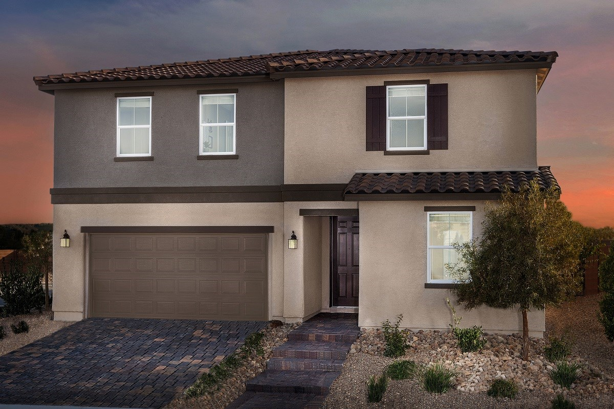 New Homes in North Las Vegas, NV - Desert Mesa Plan 2339 Modeled