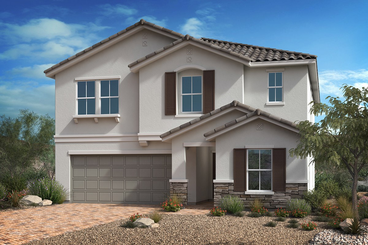 New Homes in Las Vegas, NV - Reserves at Durham Ranch Plan 2679