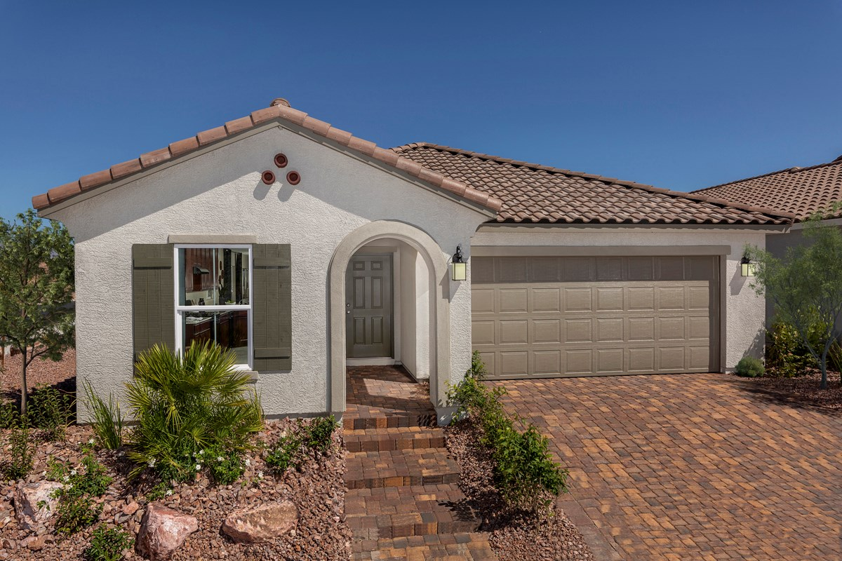 New Homes in Las Vegas, NV - Reserves at Durham Ranch Plan 1589
