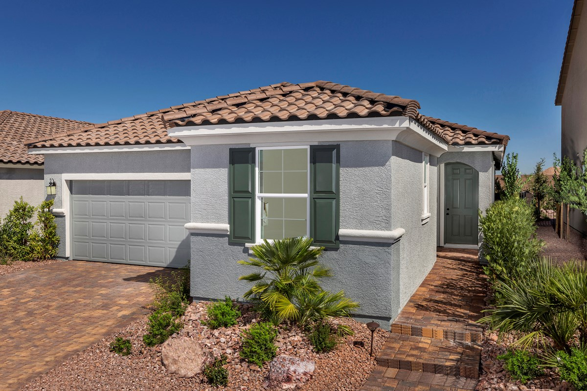 New Homes in Las Vegas, NV - Reserves at Durham Ranch Plan 1849