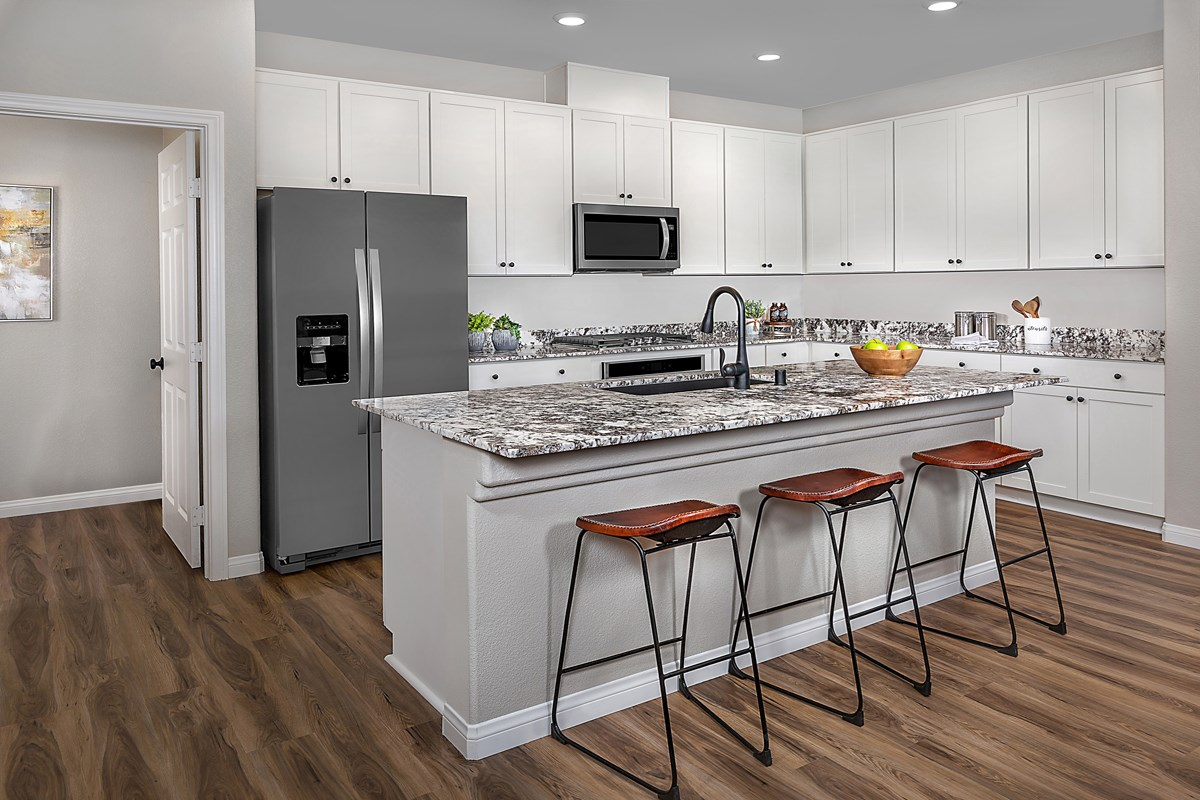 New Homes in Las Vegas, NV - Reserves at Durham Ranch Plan 1849 Kitchen
