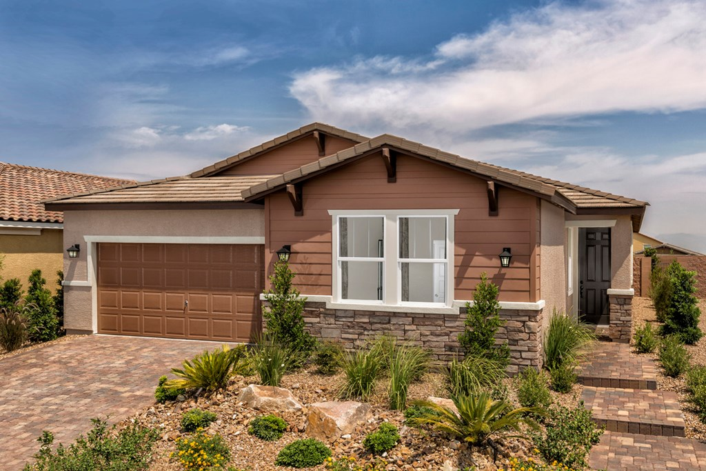 KB model home in Henderson, NV