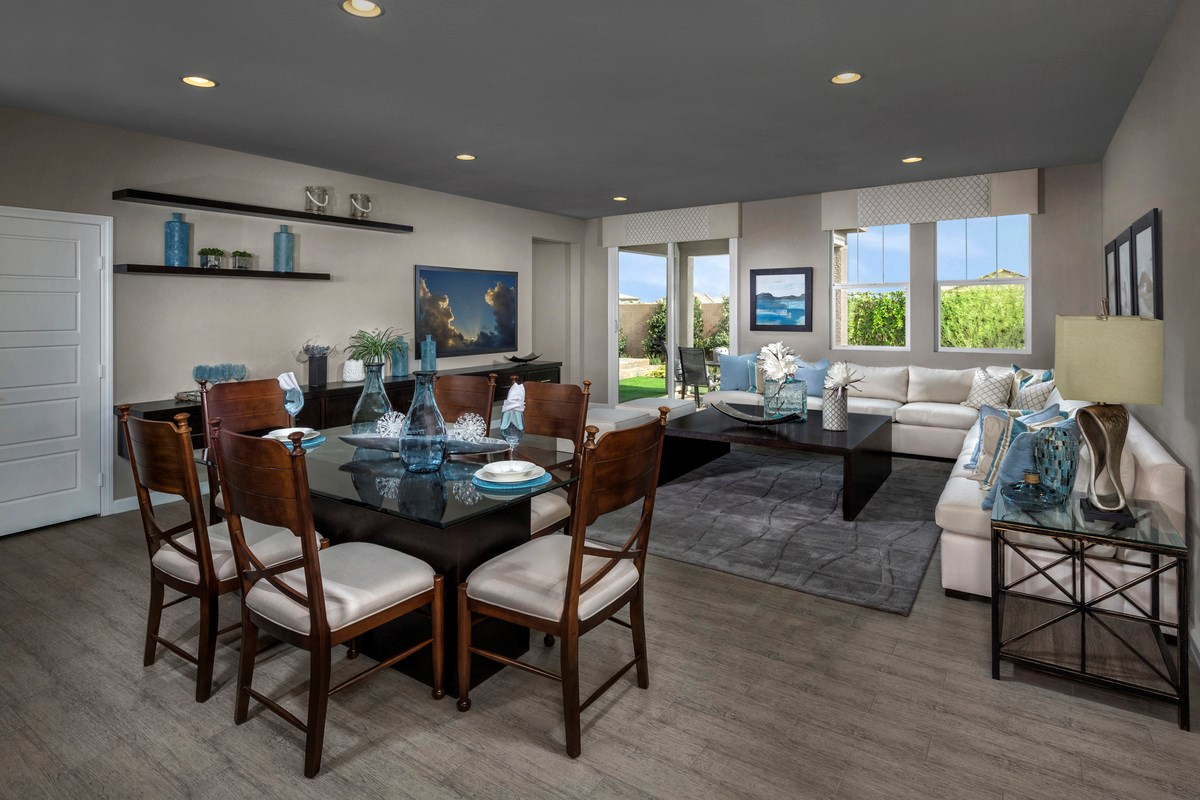 New Homes in Henderson, NV - Enclaves at Inspirada Plan 2170 Great Room