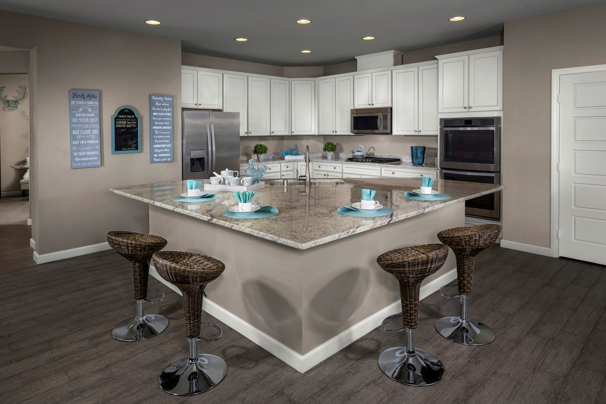 New Homes in Henderson, NV - Enclaves at Inspirada Plan 2170 Kitchen