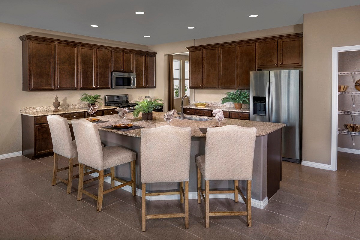 New Homes in Henderson, NV - Enclaves at Inspirada Plan 2242 Kitchen