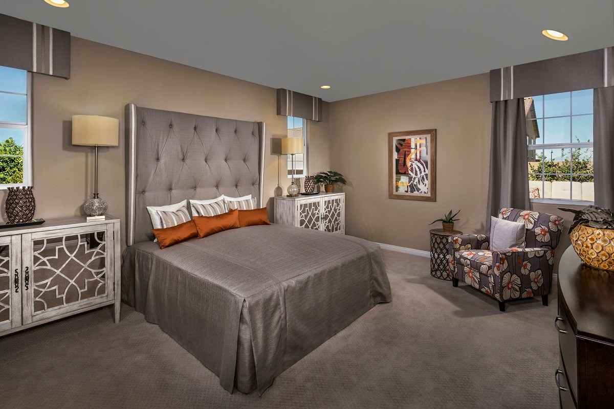 New Homes in Henderson, NV - Enclaves at Inspirada Plan 2242 Master Bedroom