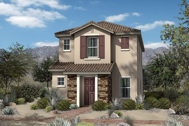 New Homes in North Las Vegas, NV - Plan 1558 Elevation B