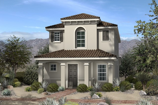New Homes in North Las Vegas, NV - Plan 1558 Elevation E