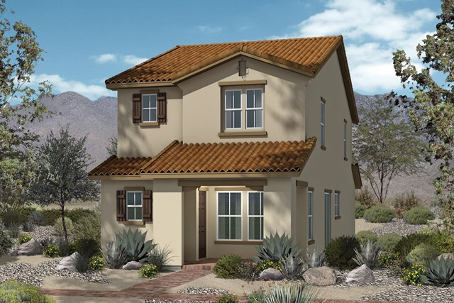 New Homes in North Las Vegas, NV - Plan 1674 Elevation A