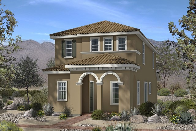 New Homes in North Las Vegas, NV - Plan 1674 Elevation E