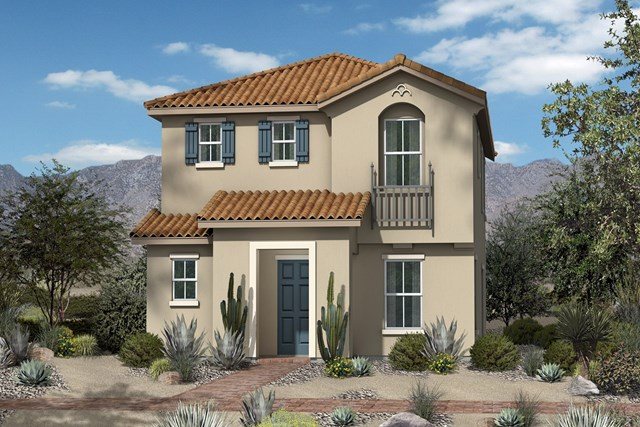 New Homes in North Las Vegas, NV - Plan 1812 Elevation A