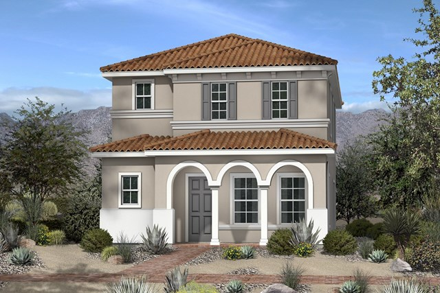 New Homes in North Las Vegas, NV - Plan 1812 Elevation E