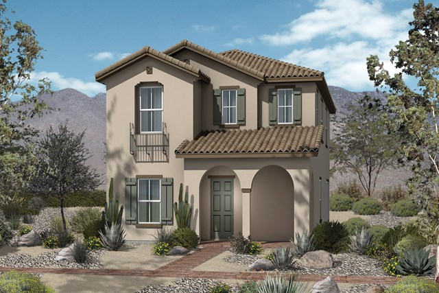 New Homes in North Las Vegas, NV - Plan 2041 Elevation A
