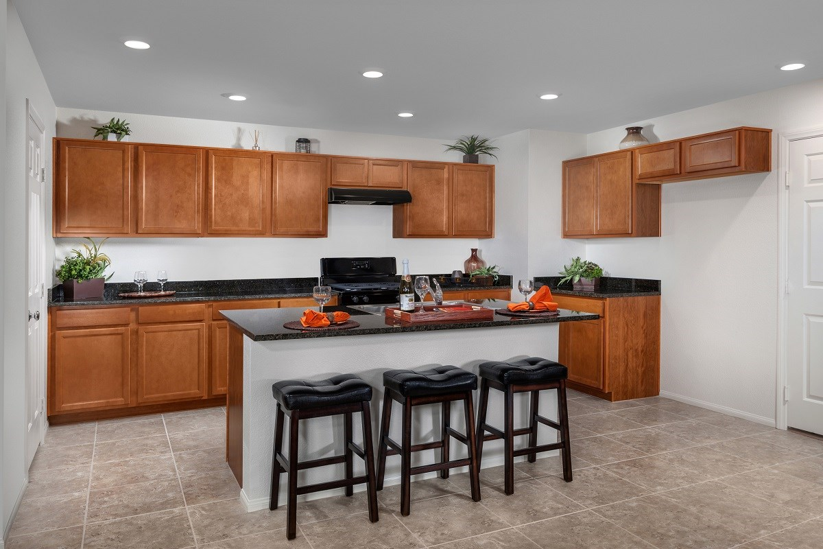 New Homes in Henderson, NV - Greencourts at Inspirada Plan 1812 Kitchen