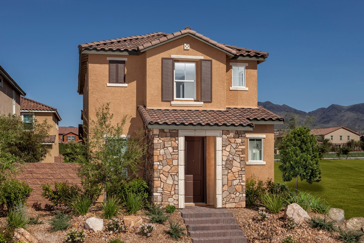 New Homes in Henderson, NV - Greencourts at Inspirada Plan 1558
