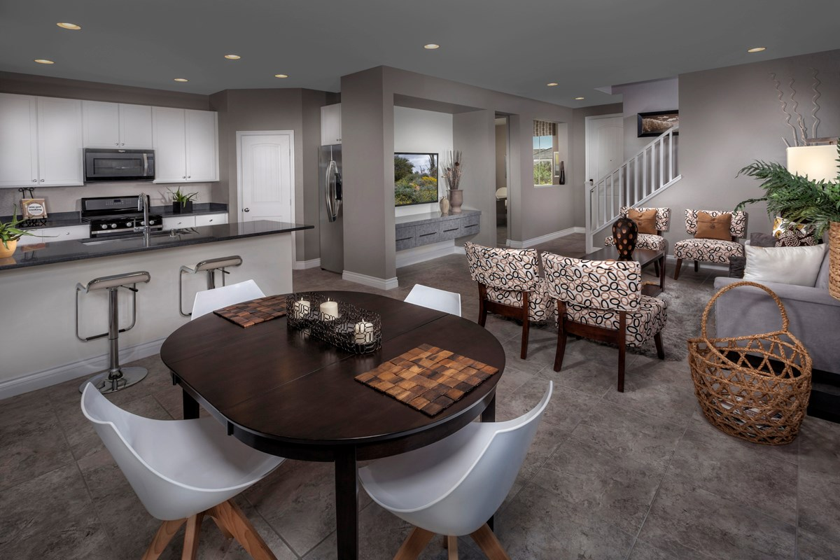 New Homes in Henderson, NV - Greencourts at Inspirada Plan 2041 Great Room