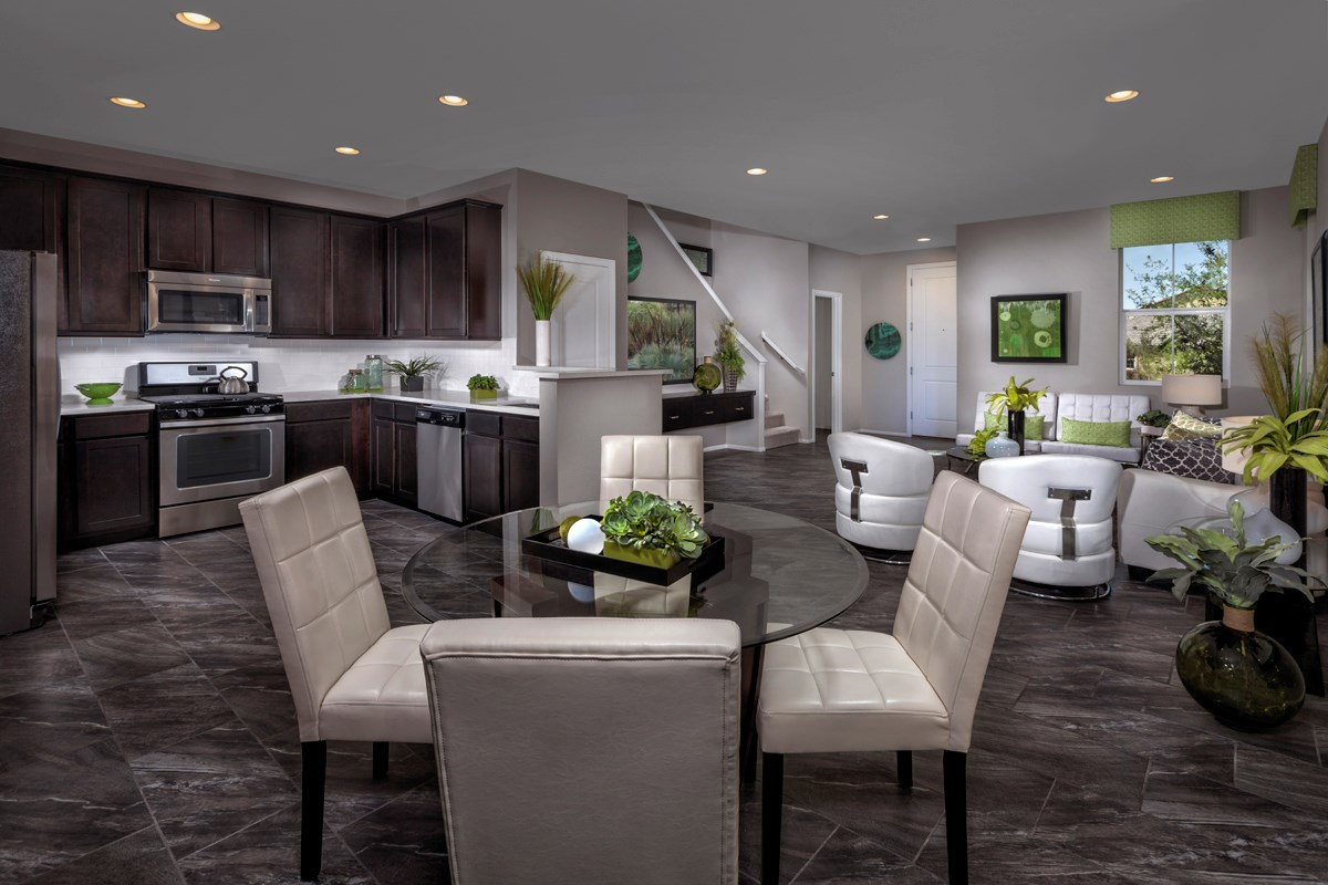 New Homes in Henderson, NV - Greencourts at Inspirada Plan 1558 Great Room