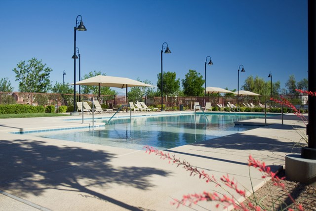 Amenity pool at a KB Home community in Henderson, NV